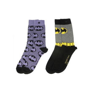 Batgirl 2 Pack of Ladies Socks