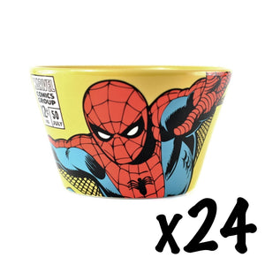 24 x Spider-Man Ceramic Bowls RRP £216