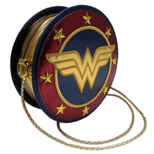 Load image into Gallery viewer, Wonder Woman Shield Shoulder Bag