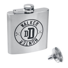 Load image into Gallery viewer, The Walking Dead Walker Hunter Hip Flask With Funnel