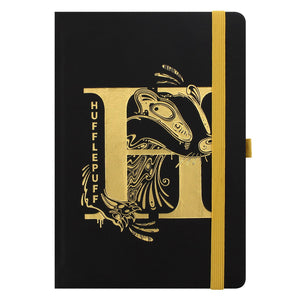Harry Potter Hufflepuff Foil Monogram A5 Notebook