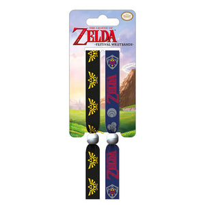 The Legend Of Zelda Pack of 2 Festival Wrist Bands