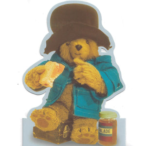 Paddington Bear Shaped Greeting Card