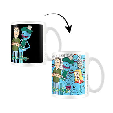 Rick & Morty Jerry & Mr Meeseeks Heat Change Mug