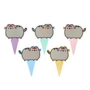 Pack of 10 Pusheen Cake Toppers