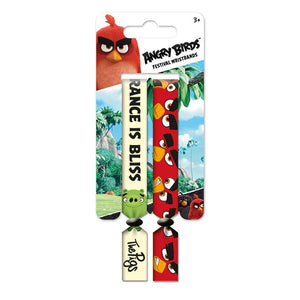 Angry Birds Pack of 2 Festival Wristbands