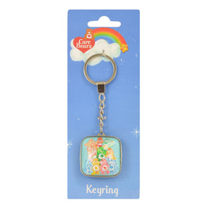 Care Bears Group Metal Keyring