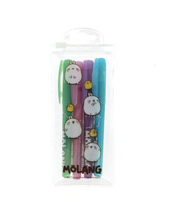 Molang Set of 4 Gel Pens