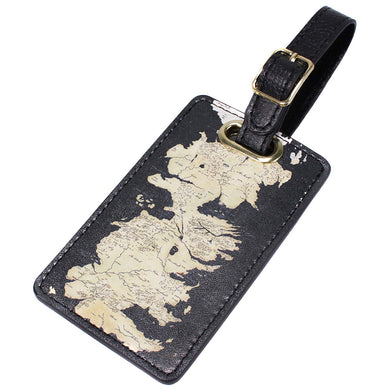 Game of Thrones Westeros Map Luggage Tag