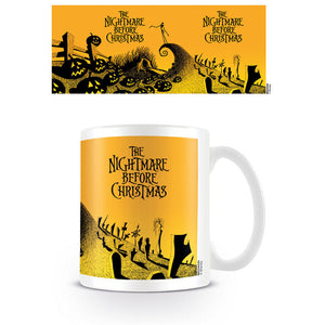 Nightmare Before Christmas Graveyard Scene Mug