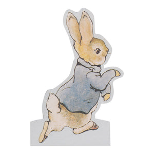 Beatrix Potter Peter Rabbit Shaped Greeting Card