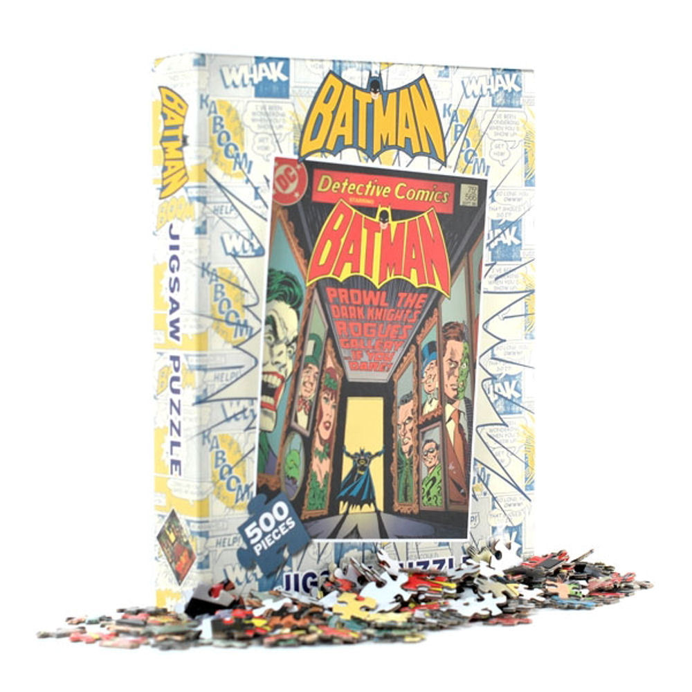 Batman Comic Cover Jigsaw Puzzle (500 Pieces)