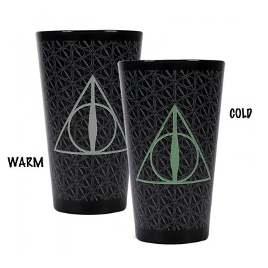 Harry Potter Deathly Hallows Heat Change Glass