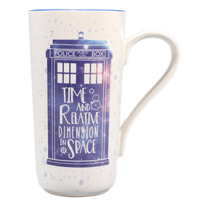 Doctor Who Tardis Latte Mug