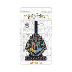 Harry Potter Hogwarts Crest PVC Luggage Tag