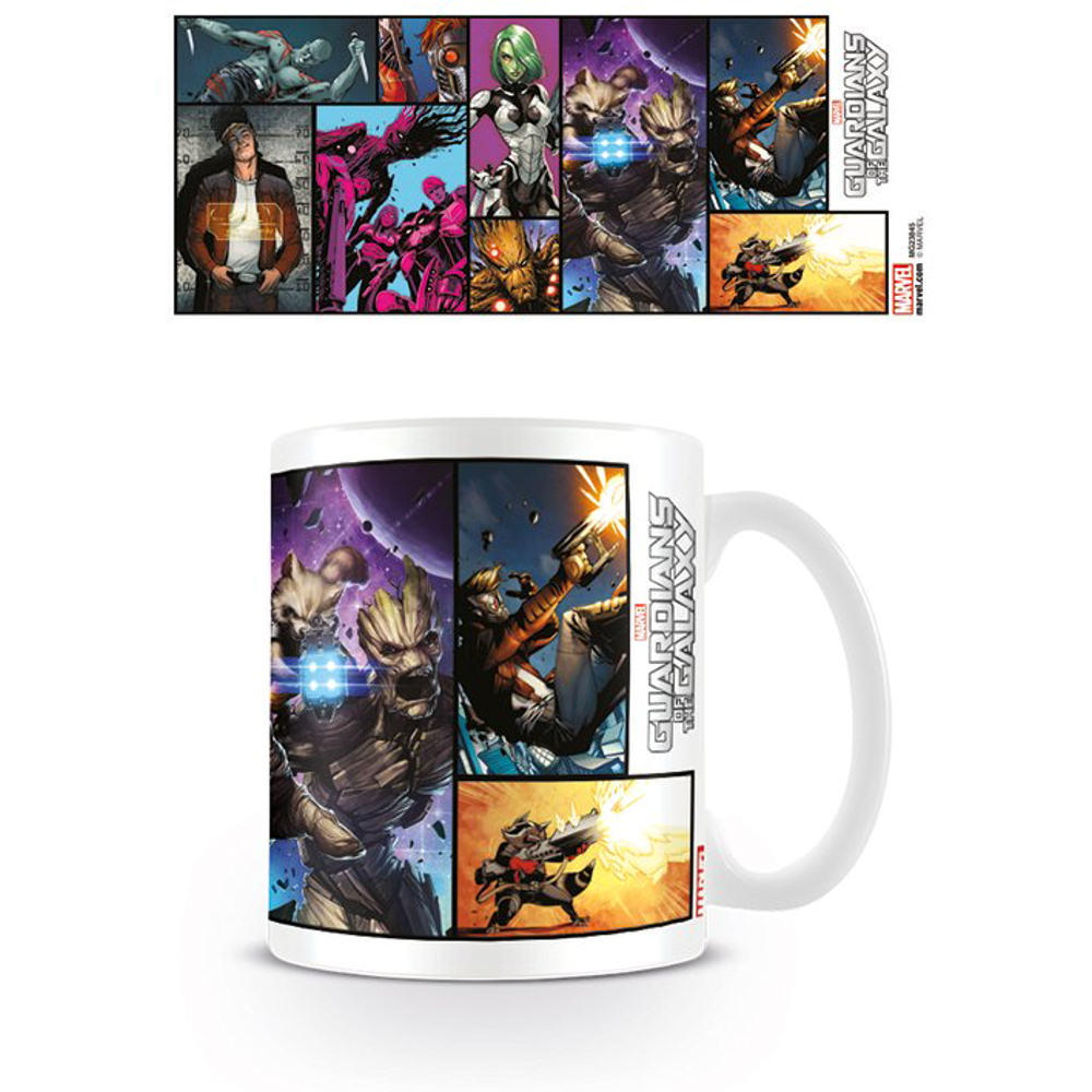Guardians Of The Galaxy Comic Cover Mug
