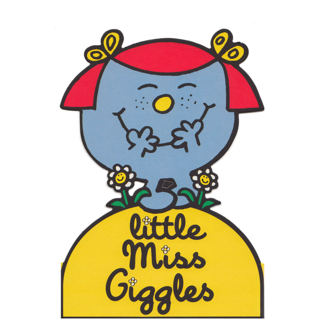 Little Miss Giggles Greeting Card