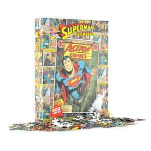 Superman Comic Cover Jigsaw Puzzle (500 Pieces)