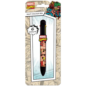 Marvel Blocks Multicolour Pen