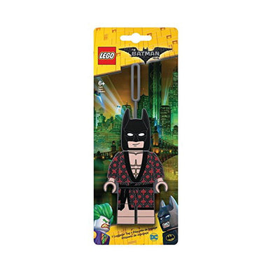 Lego Batman Wearing Kimono Luggage Tag