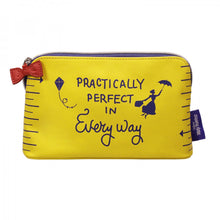 "Load image into Gallery viewer, Mary Poppins ""Practically Perfect In Every Way"" Makeup Bag"