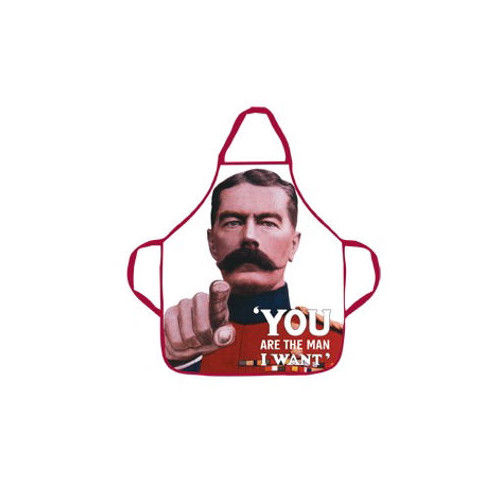 You Are The Man I Want Cotton Apron