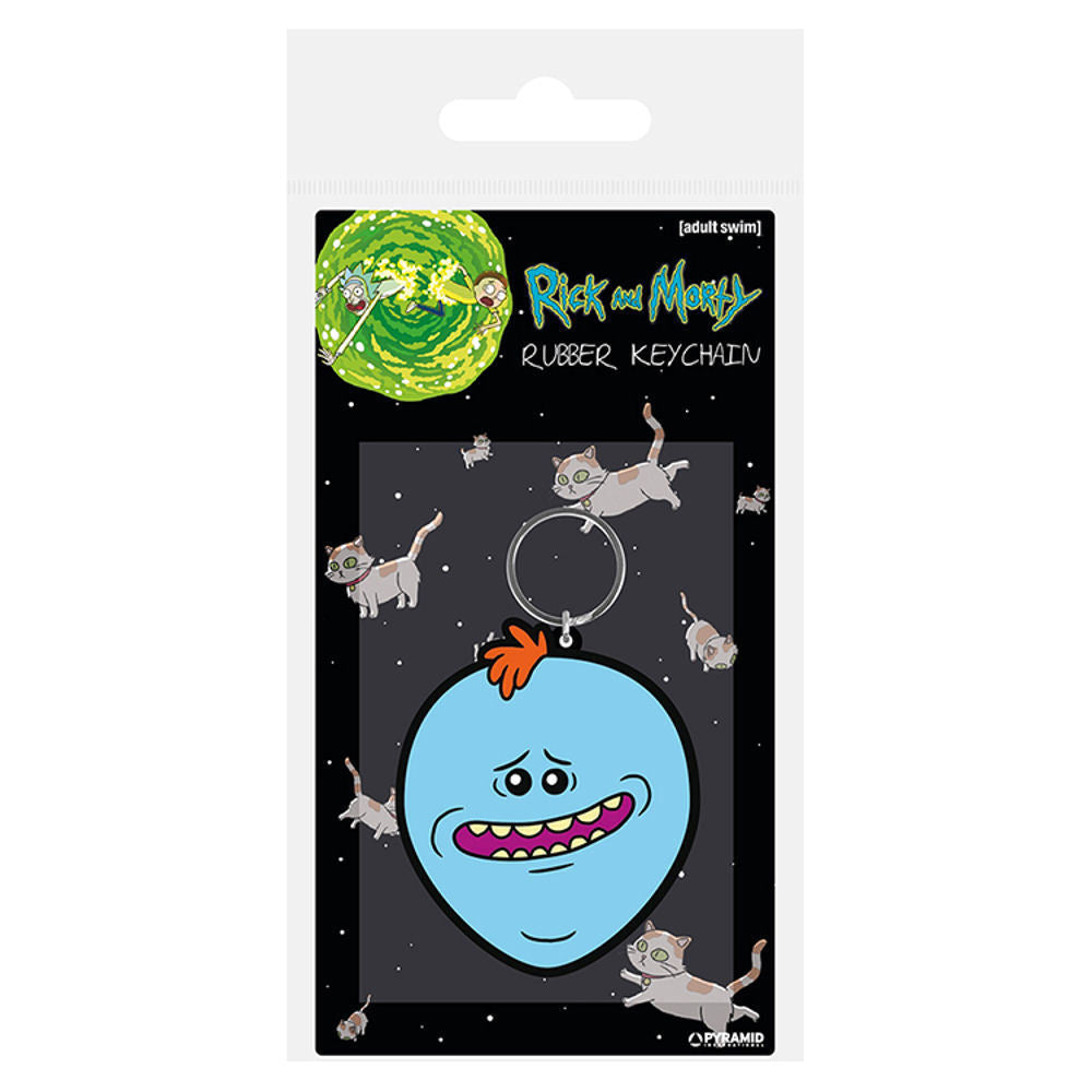 Rick & Morty Mr Meeseeks PVC Keyring