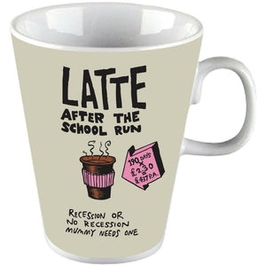 The Truth About Mums And Dads Latte Mug