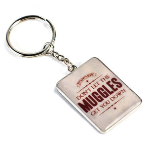 Harry Potter Don't Let The Muggles Get You Down Metal Keyring
