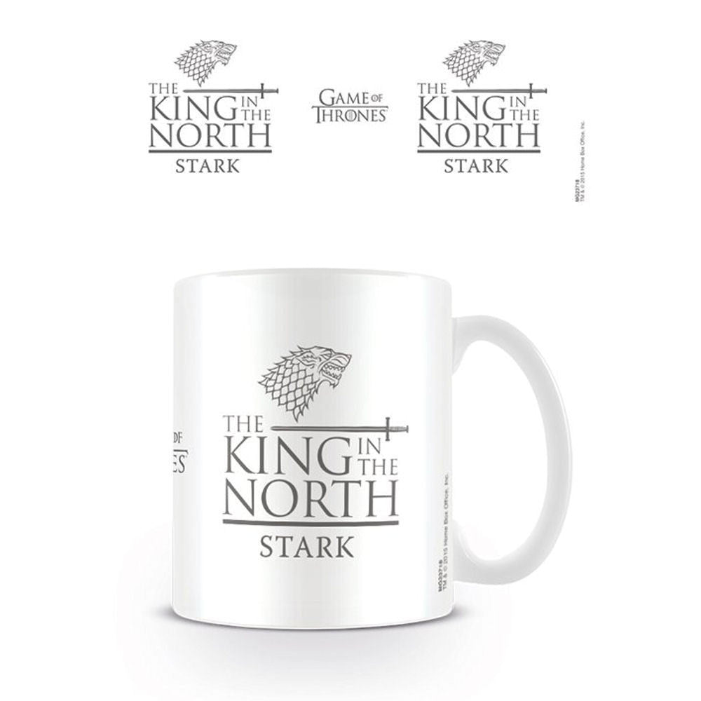 Game Of Thrones King In The North Mug