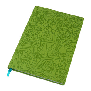 Rick & Morty Portal Dash Flexi Cover A5 Notebook