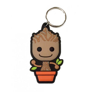 Guardians Of The Galaxy Baby Groot Rubber Keyring