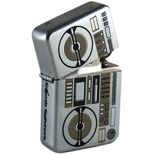 Bomb Lighter Inspired By The Ghettoblaster