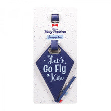 "Load image into Gallery viewer, Mary Poppins ""Let's Go Fly A Kite"" Luggage Tag"