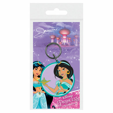 Disney Princesses Jasmine from Aladdin PVC Keyring
