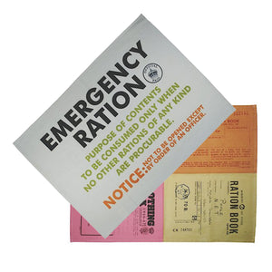 Set of 2 Emergency Rations Tea Towels