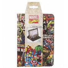 Load image into Gallery viewer, Marvel Black Comic Covers iPad Mini Case