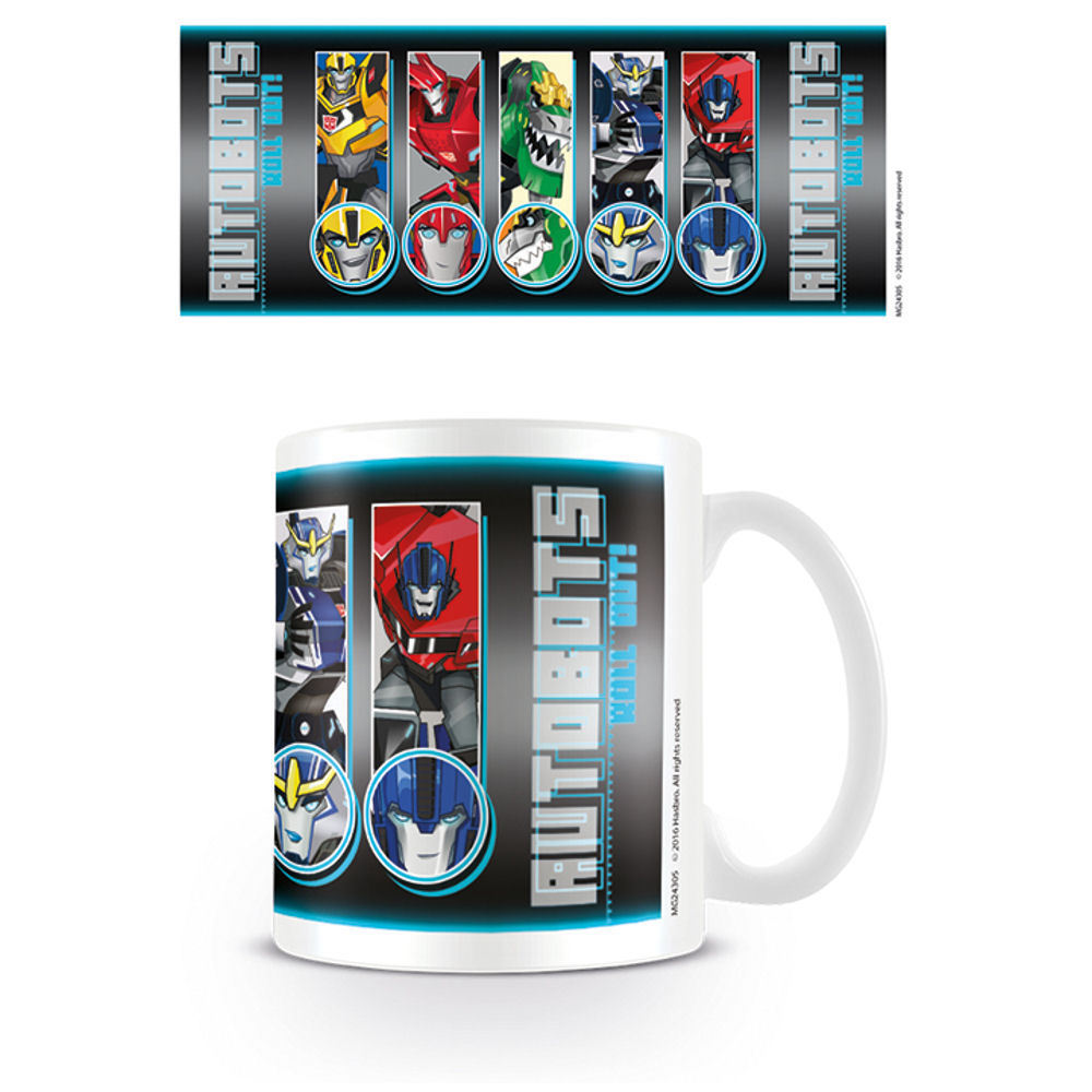 Transformers Roll Call Roll Out Mug