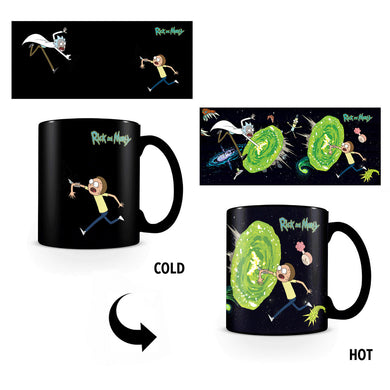 Rick & Morty Portals Heat Change Mug