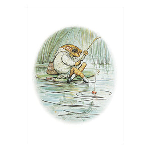 Beatrix Potter Jeremy Fisher Greeting Card