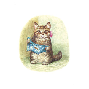 Miss Moppet Greeting Card