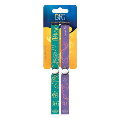Big Friendly Giant Pack of 2 Festival Wristbands