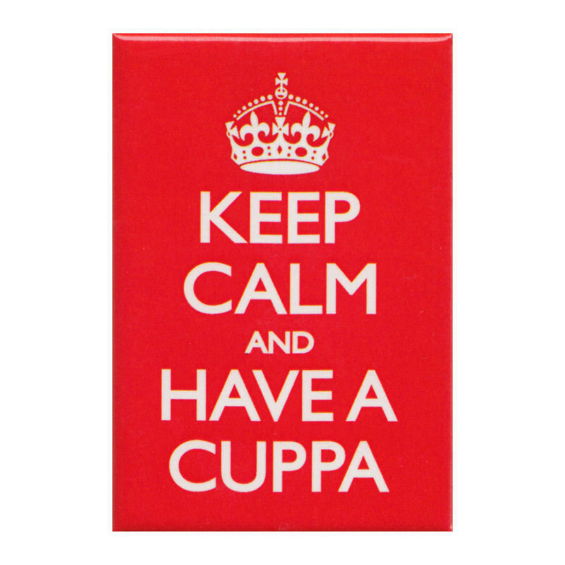 Keep Calm And Have A Cuppa Fridge Magnet