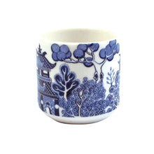 Load image into Gallery viewer, Blue Willow Pattern Ceramic Egg Cups