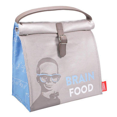 Thunderbirds Brain Food Insulated Cotton Lunch Bag
