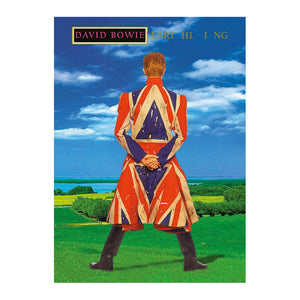 David Bowie Earthling Postcard
