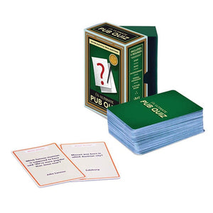The Ultimate Pub Quiz Trivia Cards