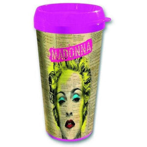 Madonna Celebration Plastic Travel Mug