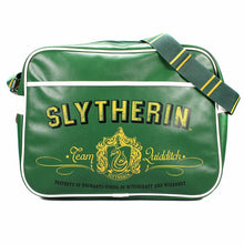 Load image into Gallery viewer, Harry Potter Slytherin Team Quidditch Shoulder Bag