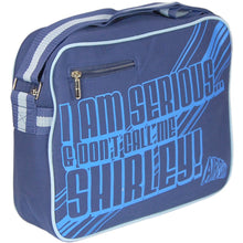 "Load image into Gallery viewer, Airplane ""I'm Serious And Don't Call Me Shirley"" Shoulder Bag"